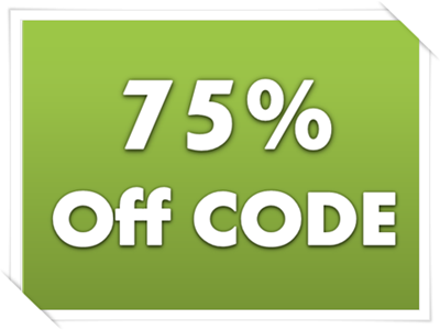 75% off Certain Products